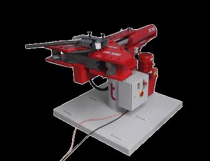 kompaktní ohýbačka hydraulických trubek