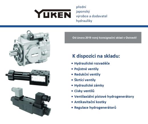 Yuken - konsignační sklad