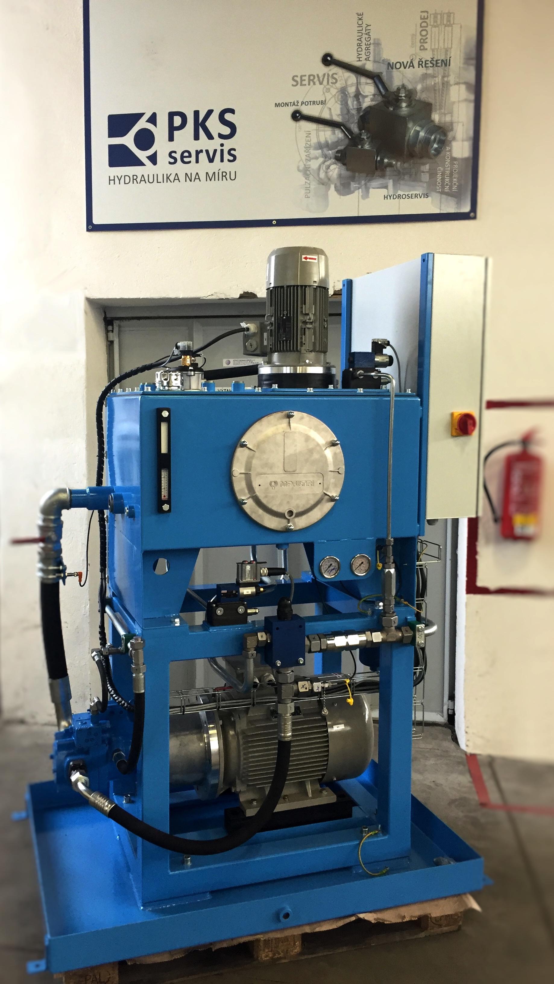 hydraulický agregát ostrava