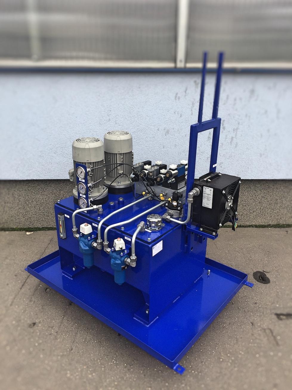 hydraulický agregát testovací zařízení