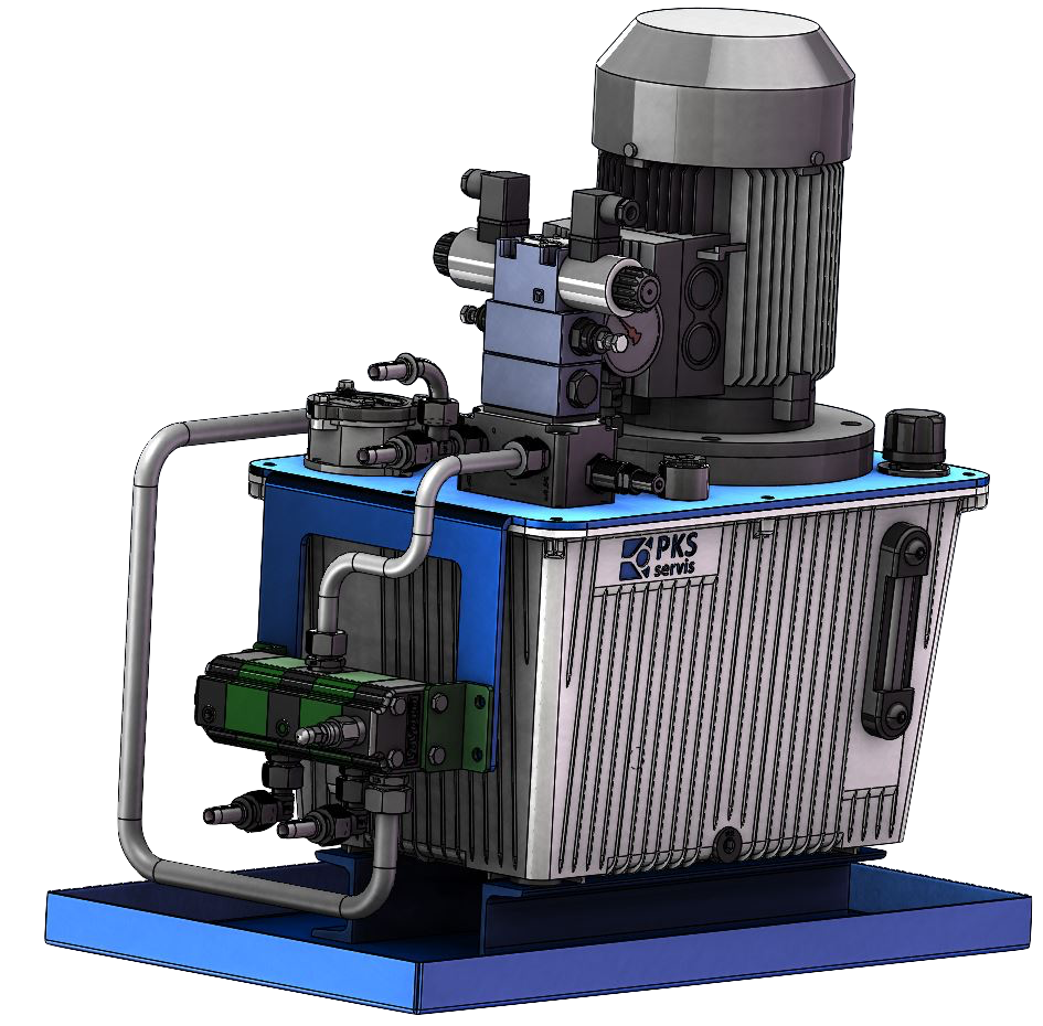 hydraulický ahregát PKS