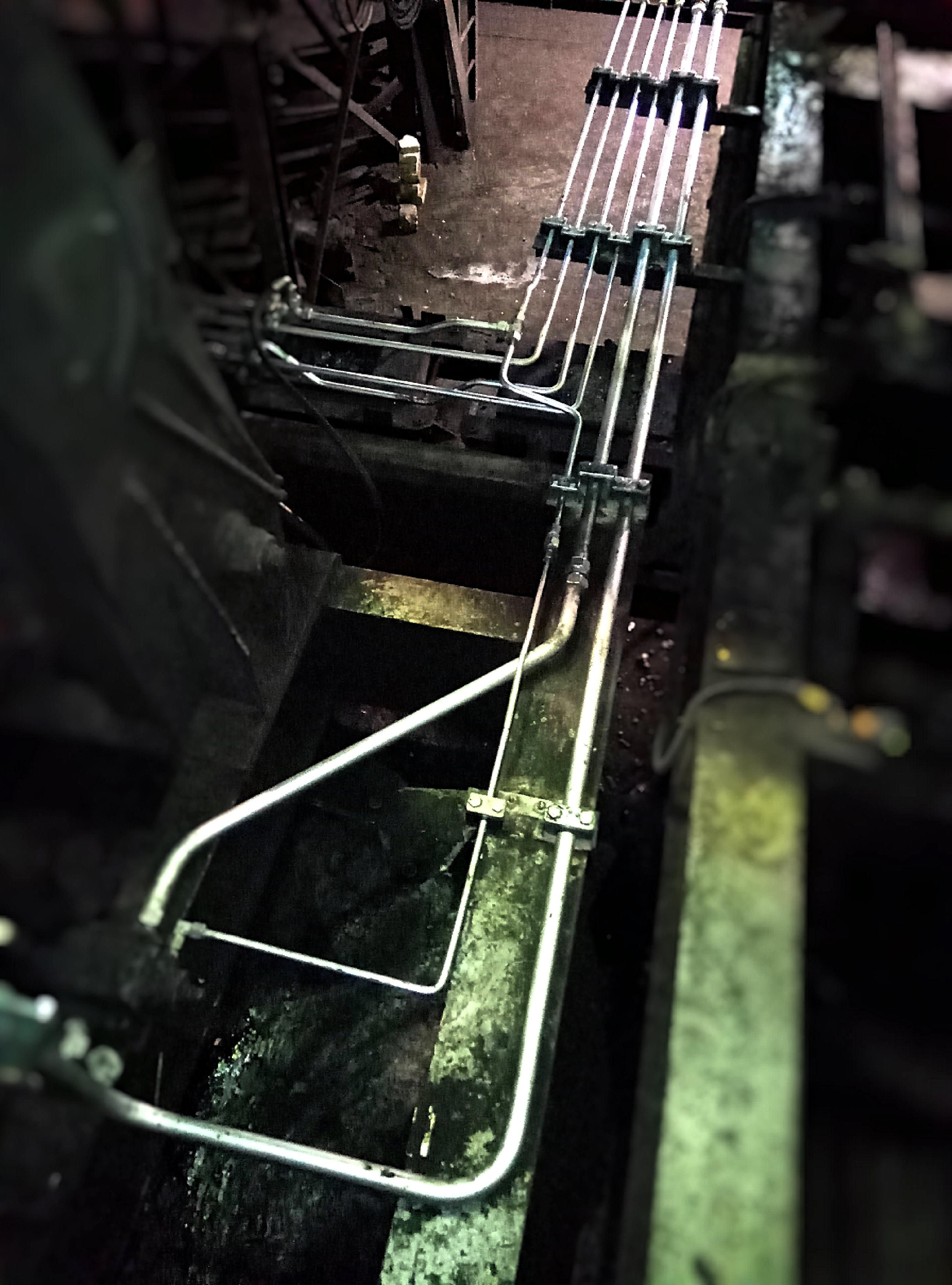hydraulické trubky montáž