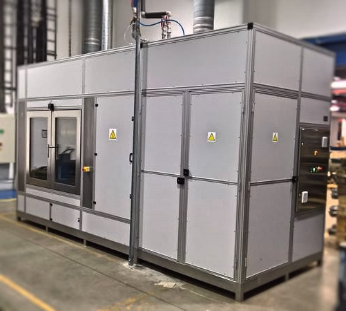 testovací komora zařízení